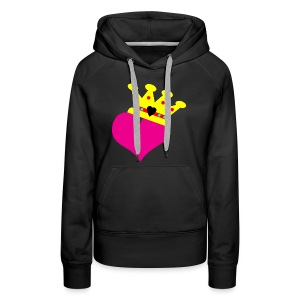 Lil Diamond's Fit for a Queen merch - Women's Premium Hoodie