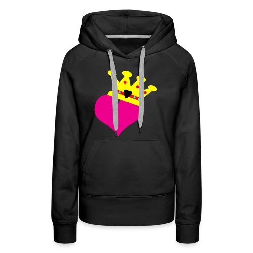 Lil Diamond's Fit for a Queen merch - Women's Premium Hoodie