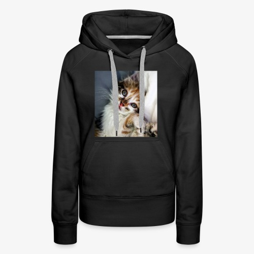 Cute Cat - Women's Premium Hoodie