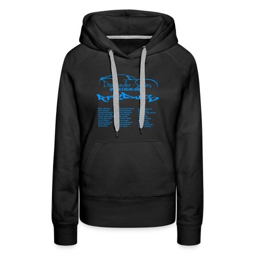 rf2dus with name - Women's Premium Hoodie