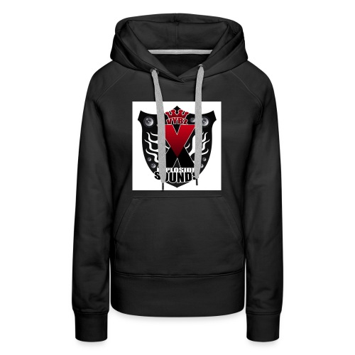 Vybz X Explosion Sounds Logo - Women's Premium Hoodie