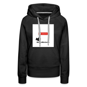 Youtube Like and Subscribe - Women's Premium Hoodie