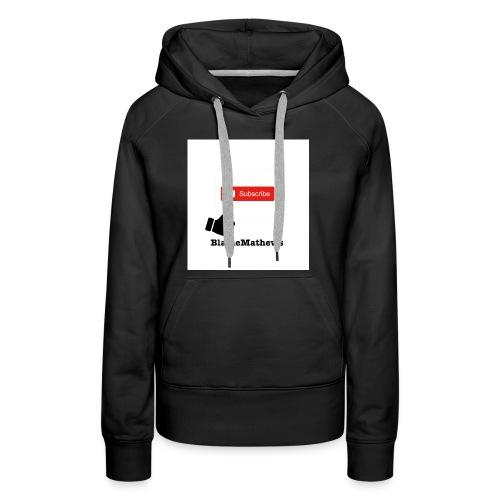Youtube Like and Subscribe - Women's Premium Hoodie