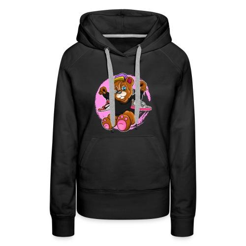 Fashion Bear Sneakerhead - Women's Premium Hoodie