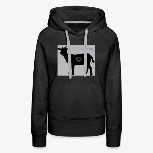 Goat Life - Women's Premium Hoodie