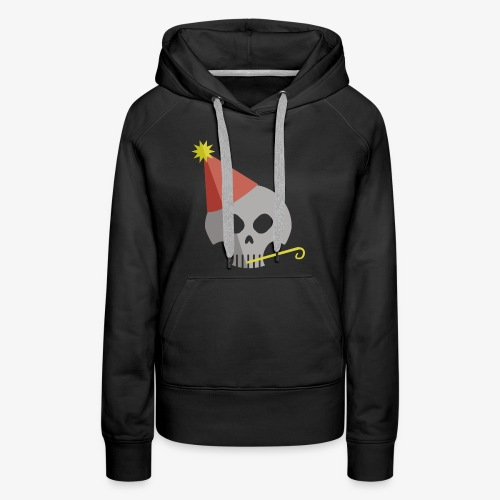 Party Skull - Women's Premium Hoodie