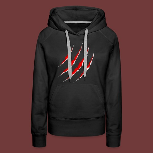 The Tiger Claw - Women's Premium Hoodie