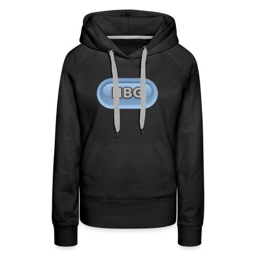 HBG CIRCLE DESIGN - Women's Premium Hoodie