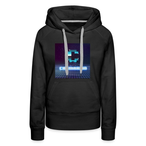 The killer 80s logo - Women's Premium Hoodie