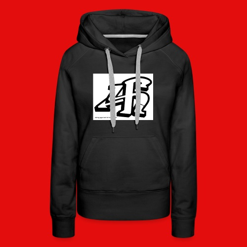 4h graffiti letters and numbers - Women's Premium Hoodie