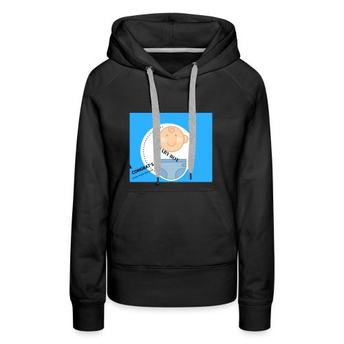 BABY ON BOARD 2 - Women's Premium Hoodie