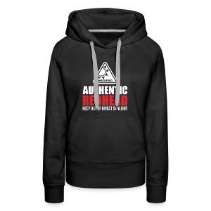 Authentic Redhead Funny Women T-Shirt - Women's Premium Hoodie