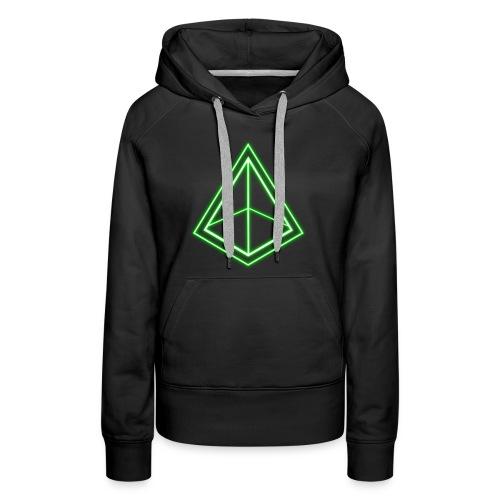 Green Pyramid - Women's Premium Hoodie