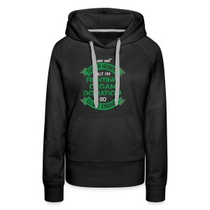 Organ Donation Awareness - Women's Premium Hoodie