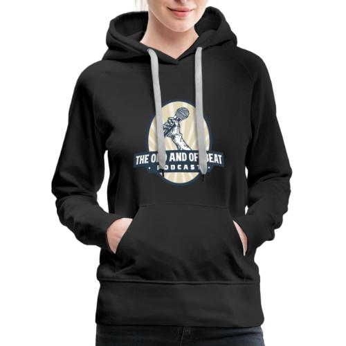 The Odd and Offbeat Podcast Logo - Women's Premium Hoodie