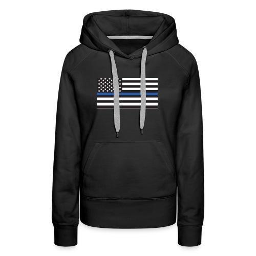 Thin Blue Line Apparel - Women's Premium Hoodie