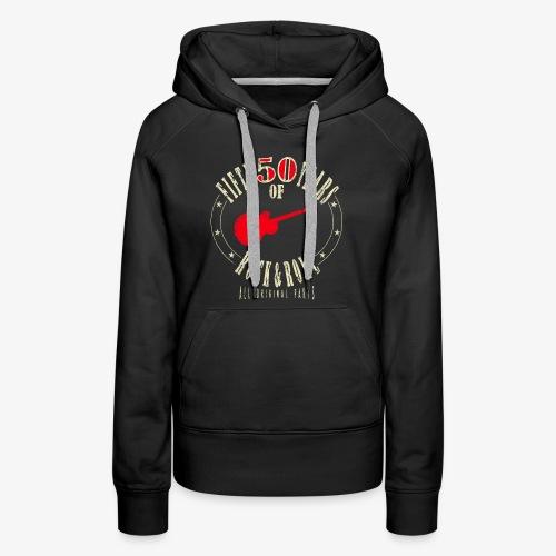 50th Birthday T-Shirt - Women's Premium Hoodie