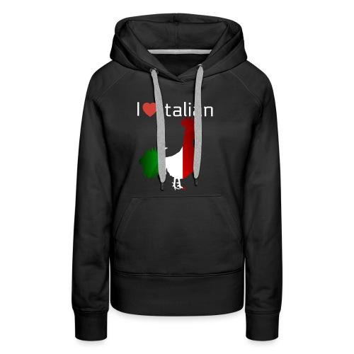 Italian Rooster - Women's Premium Hoodie