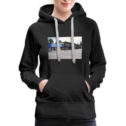 The Blue Door Motel - Women's Premium Hoodie