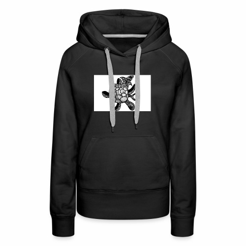 turtle and shark - Women's Premium Hoodie