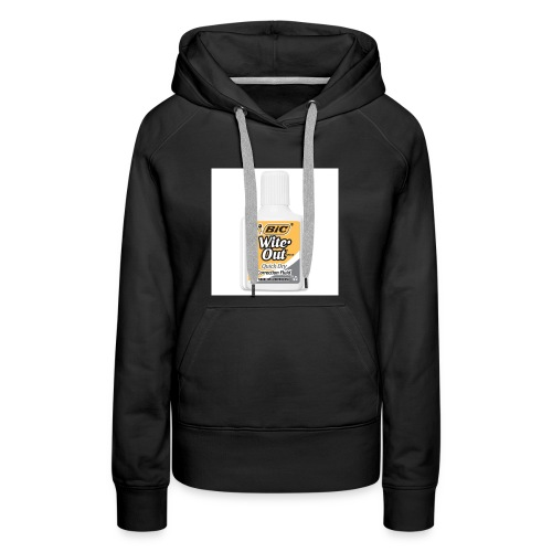 Traditional White Out Tee - Women's Premium Hoodie