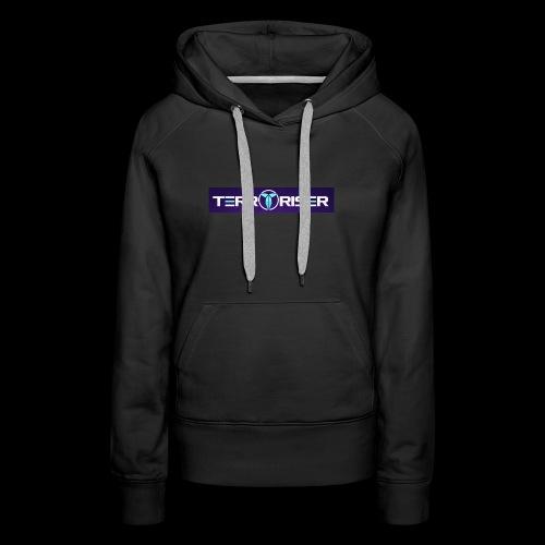 terroriser purple logo twitch 2 - Women's Premium Hoodie