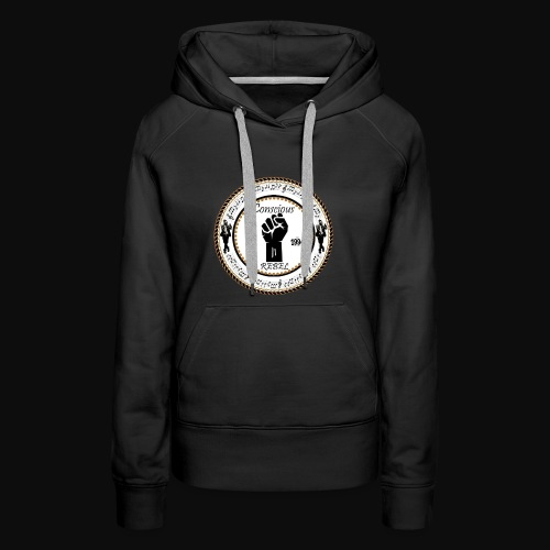 CONSCIOUS REBEL CLOTHING - Women's Premium Hoodie