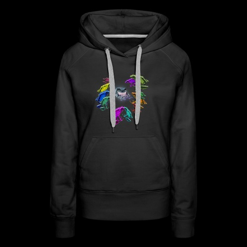 dance of 12 frogs - Women's Premium Hoodie
