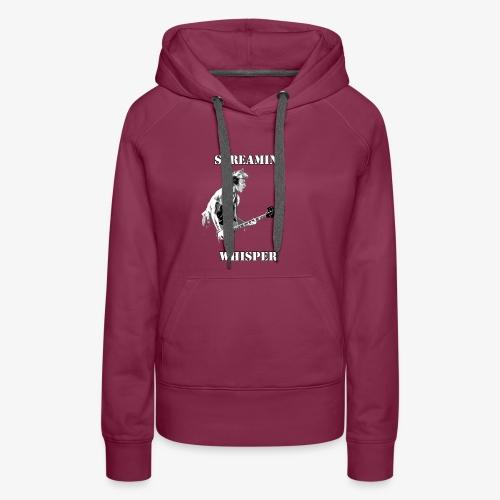 Screamin' Whisper Filth Design - Women's Premium Hoodie