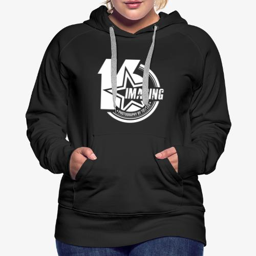 16 Badge White - Women's Premium Hoodie