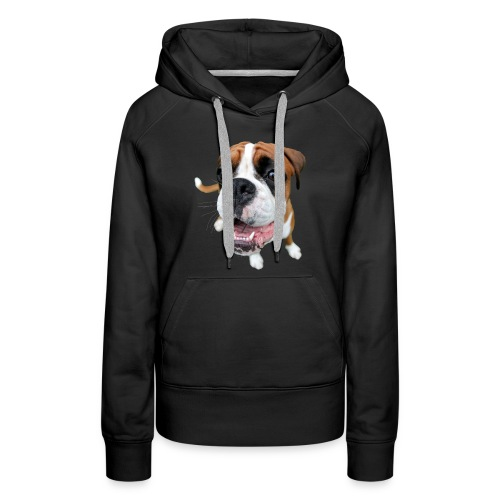 Boxer Rex the dog - Women's Premium Hoodie