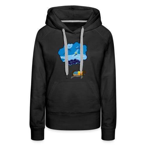 Strainge - Blue Dream Marijuana Strain shirt - Women's Premium Hoodie