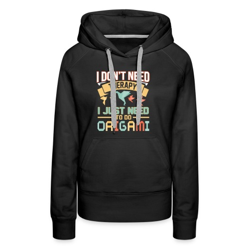 Origami therapy - Women's Premium Hoodie