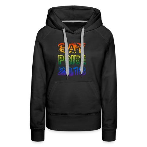 shirt gay pride 2018 - Women's Premium Hoodie