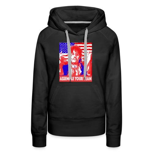 Assemble your Team Funny Olympics Shirt - Women's Premium Hoodie