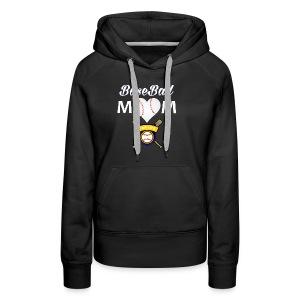 BaseBall Mom Shirt BaseBall Heart ForLife - Women's Premium Hoodie