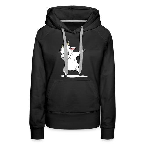 Funny Goat Dabbing - Women's Premium Hoodie