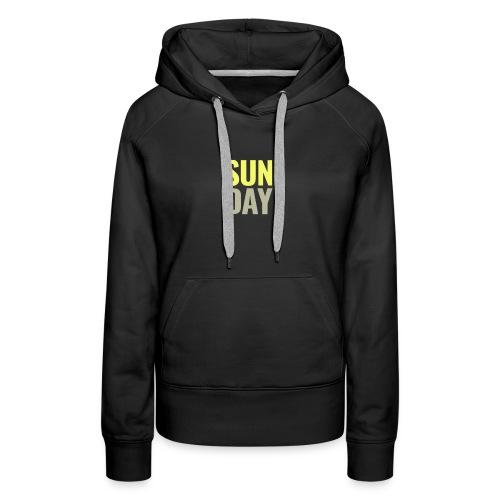 Sunday Days of the Week T-Shirt - Women's Premium Hoodie