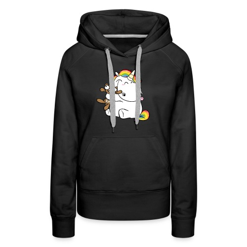 Happy Unicorn - Women's Premium Hoodie