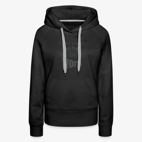 funny produc desinf for nurse and doctor day off, - Women's Premium Hoodie