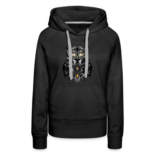 OWL Bohemian Design T-shirt BUHO FUNCLE - Women's Premium Hoodie