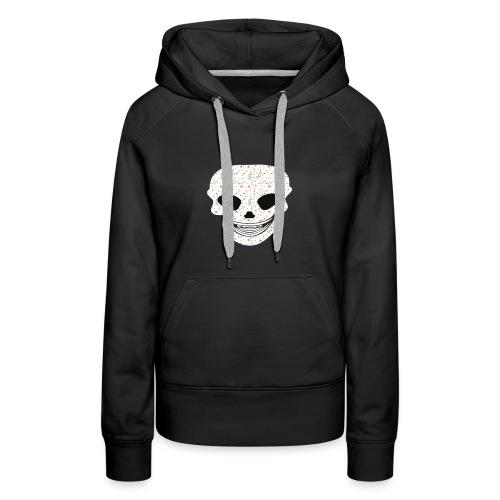 Skull Flowers Cute Death - Women's Premium Hoodie