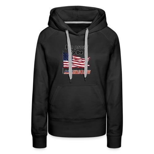 Proud American - Women's Premium Hoodie