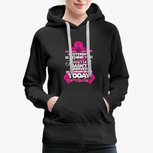 Big Ribbon Gift Today - Women's Premium Hoodie