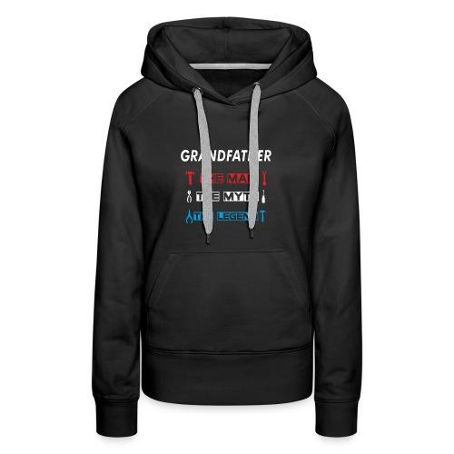 Great Promoted to Papa, New Grandpa Gift T-Shirt - Women's Premium Hoodie