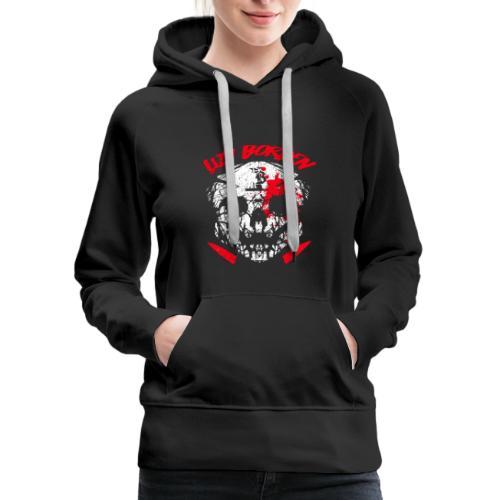 Lizy Borden Survival Skull - Women's Premium Hoodie