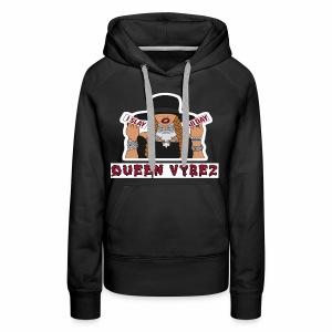 Qveen Vybez - Women's Premium Hoodie