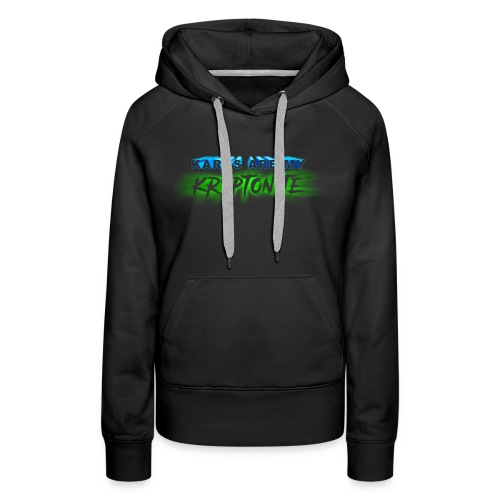 Karbs Are My Kryptonite - Women's Premium Hoodie