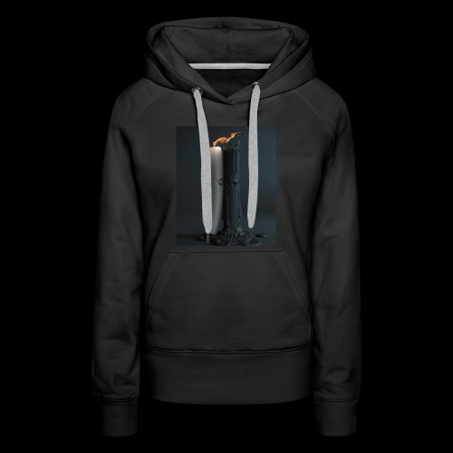 Candle Kiss - Women's Premium Hoodie