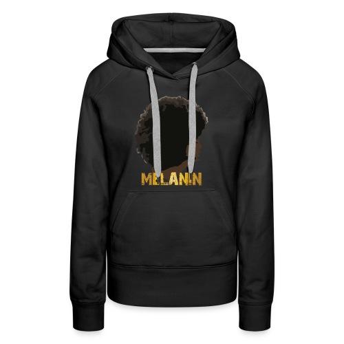 Melanin Addiction - Women's Premium Hoodie